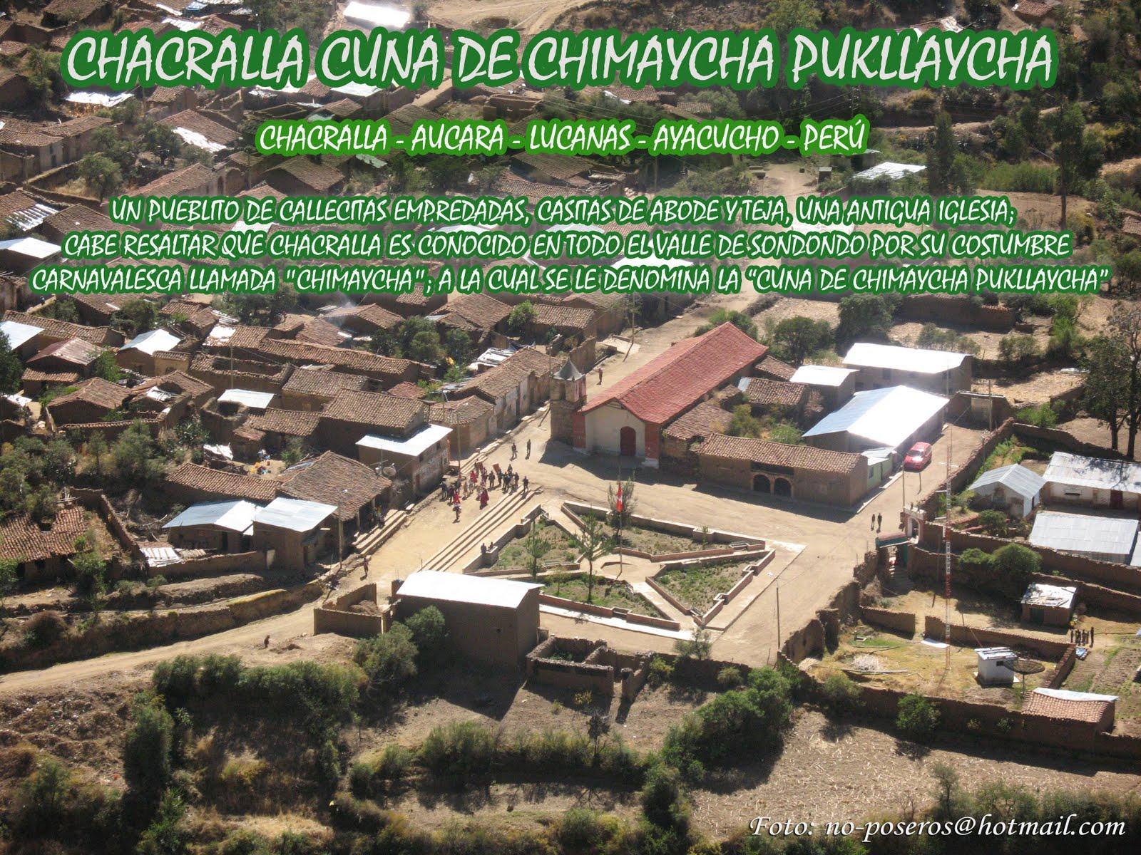 Vista Panorámico de Chacralla