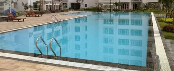 Hồ bơi căn hộ Hoàng Anh Goldhouse