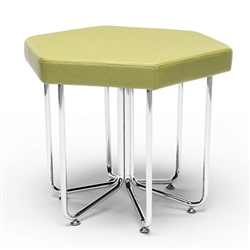 OFM Hex Stool in Leaf