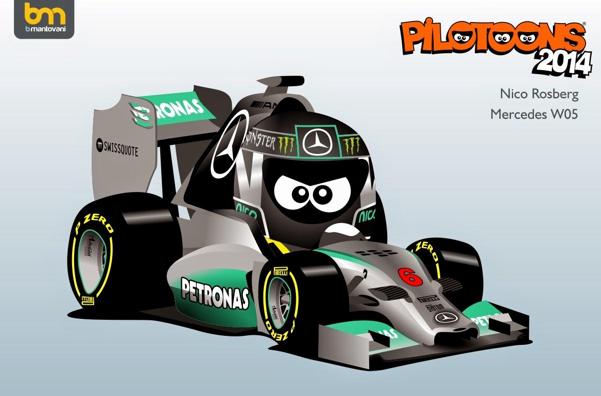 Rosberg+Mercedes