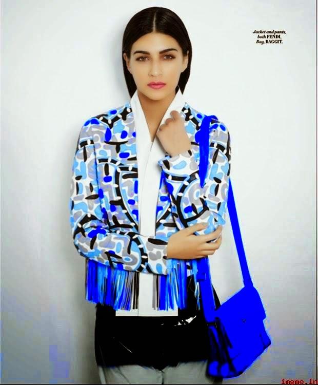 Kriti Sanon L'Officiel Magazine April 2015 Photos