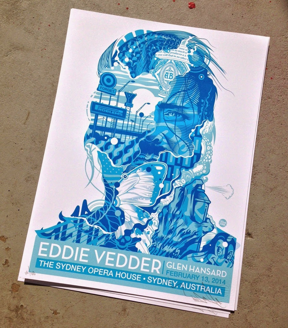 inside the rock poster frame blog tristan eaton eddie