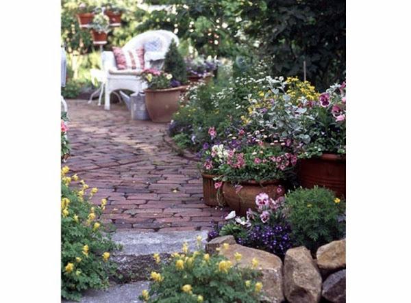Como hacer un jardin pequeno for Planos de jardines