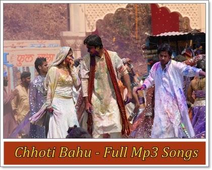 Choti Bahu Tv Serial (Season II) : Zee Tv : Full Mp3 Songs