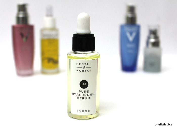 one little vice beauty blog: serums for dehydrated skin