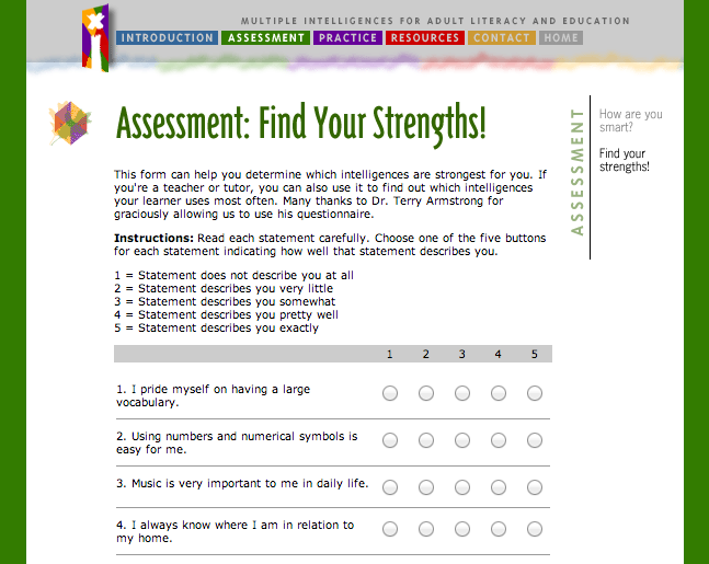 personal assessment your learning style Homeschooling | homeschool curriculum | home school programs | online high school - learning style assessment your guide to learning styles.