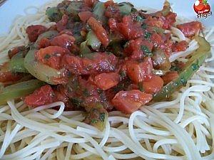 Dans mon frigo spaghetti sauce tomates for 750g dans mon frigo