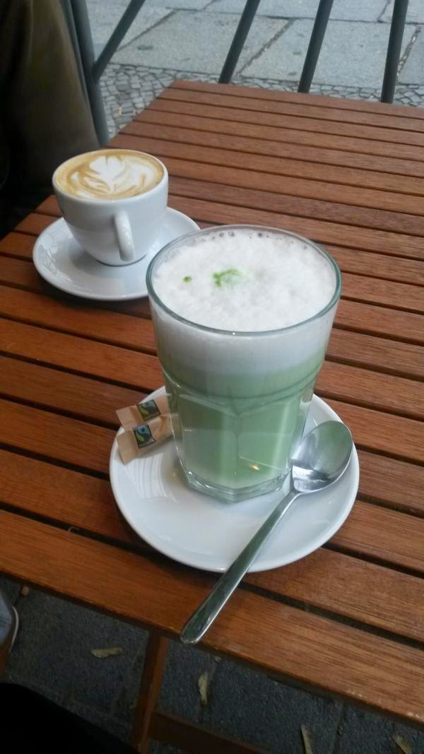 Matcha Latte Haferkater