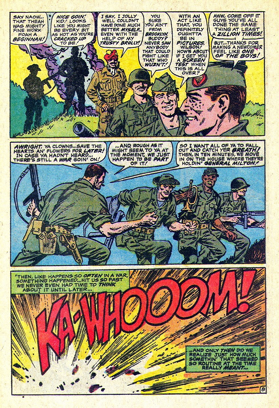 The Bronze Age Of Blogs Sgt Fury And His Howling Commandos Hi Hansithe Codes Do Point To An Electrical Problem With Transfer Macho Dialogue Youd Expect But Then Laughing Stops Dead Under Radar In A Book Certainly Our Gang Werent Buying This Ones Bit