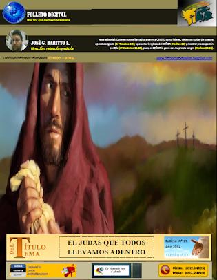 EL JUDAS QUE TODOS LLEVAMOS ADENTRO