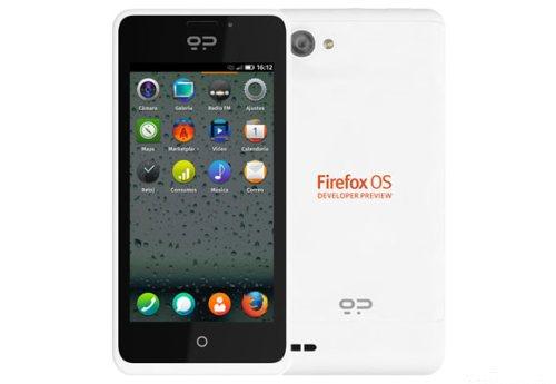 Primo smartphone per sviluppatori dual core con il nuovo sistema operativo Firefox OS