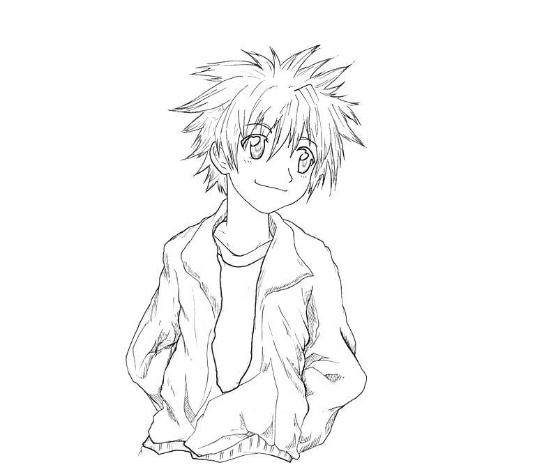 printable-daisuke-niwa-character-coloring-pages