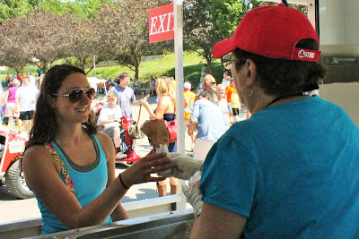 Presidential Candidates and Regular Iowa State Fair Patrons alike can be served a Pork Chop on a Stick