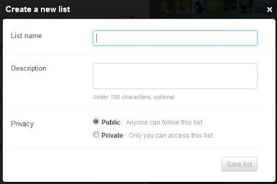 list creating