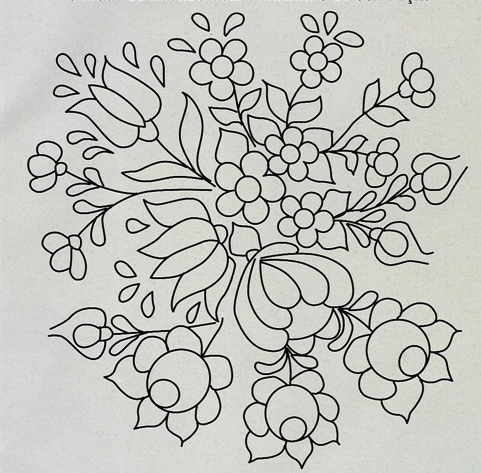 M os da arte moldes para pintar ou bordar - Plantillas para pintar camisetas a mano ...