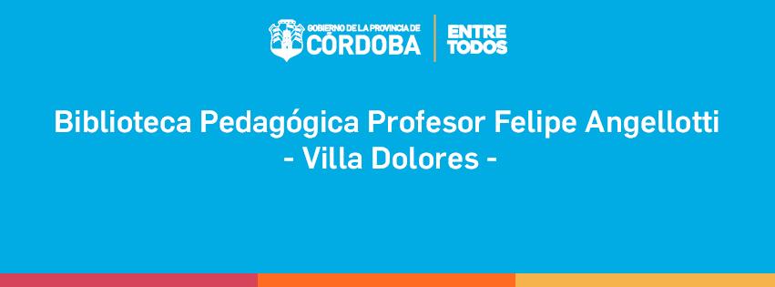 Biblioteca Pedagógica Villa Dolores