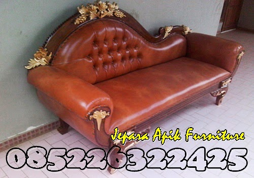 sofa jati ukiran mawar murah