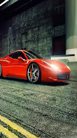 Ferrari Cars Samsung Galaxy S III Wallpapers
