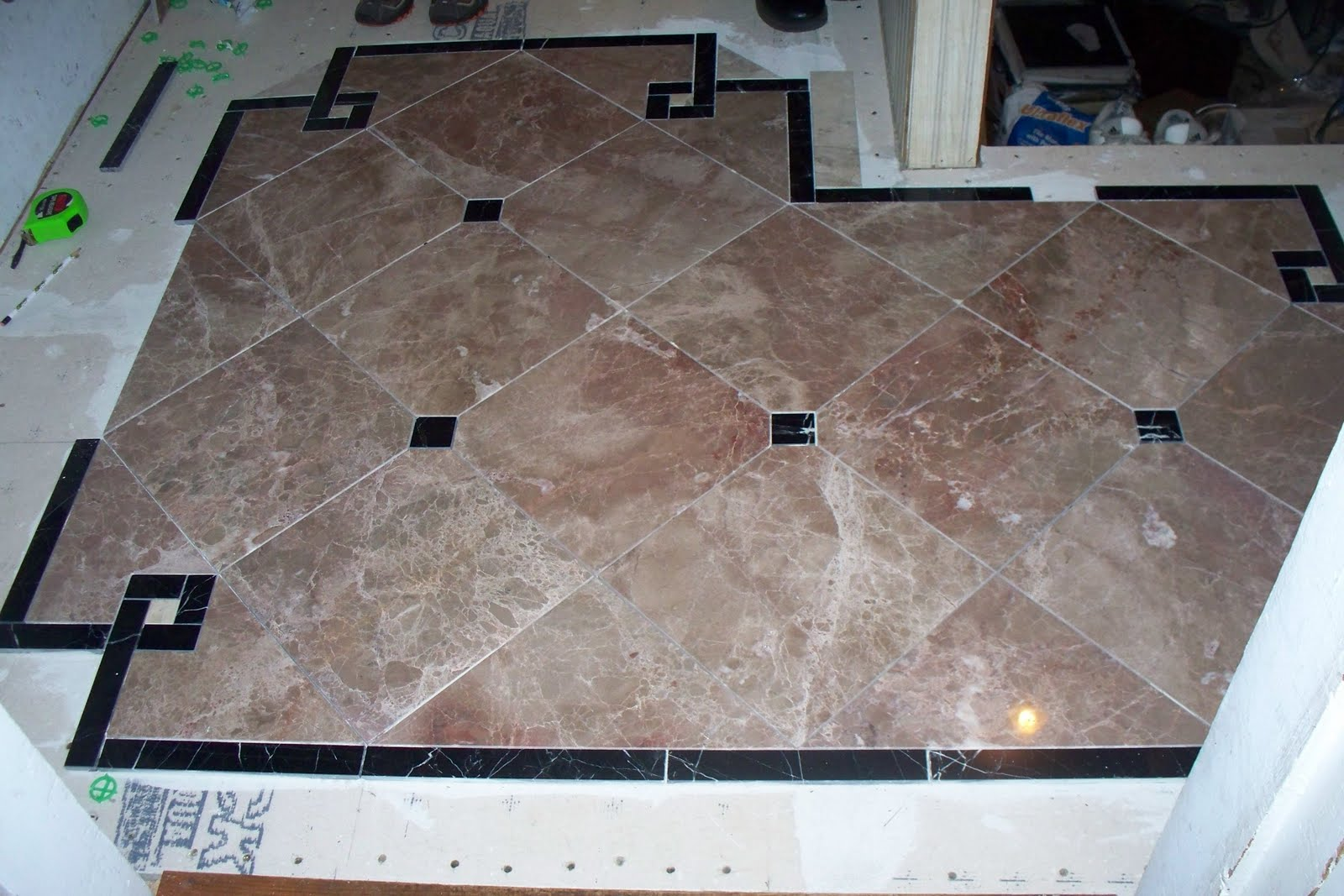Old victorian house marble floor tile entryway marble floor tile entryway dailygadgetfo Gallery
