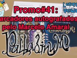 Resultado da Promo#41: Marcadores autografados pelo Marcelo Amaral