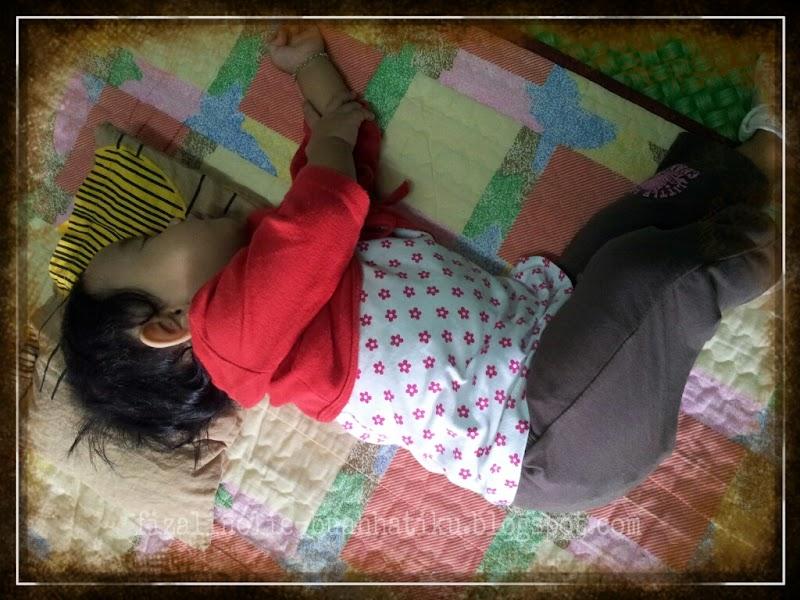 ~ Tidur Terlentang!