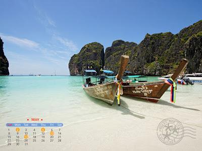 ปฏิทิน desktop (วอลล์เปเปอร์) เดือนพฤษภาคม