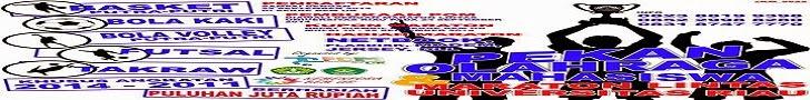 POM (Pekan Olahraga Mahasiswa) Universitas Riau