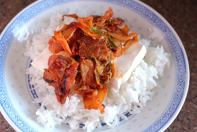 Food Endeavours of the Blue Apocalypse: Dubu Kimchi - Tofu ...