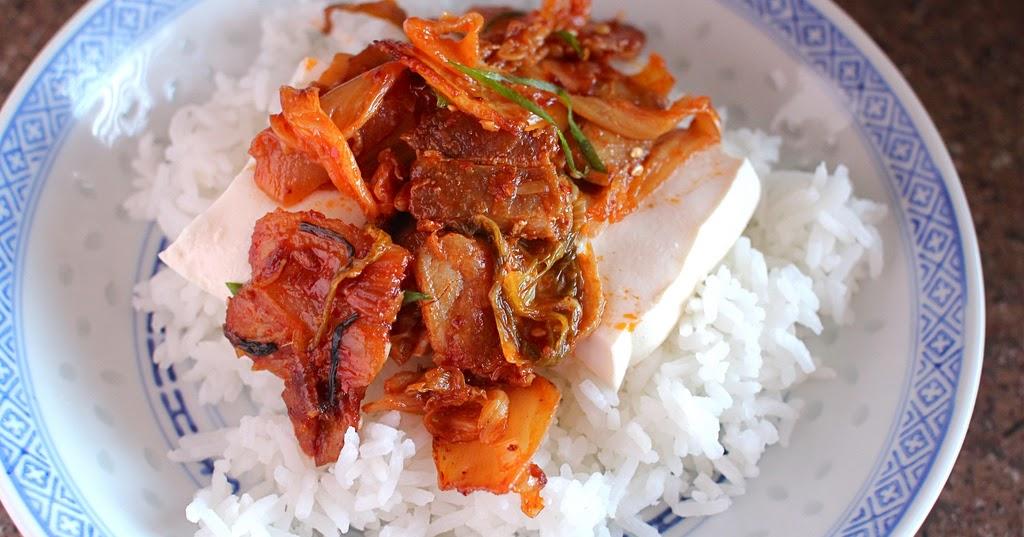 ... Apocalypse: Dubu Kimchi - Tofu with Stir Fried Kimchi and Pork Belly
