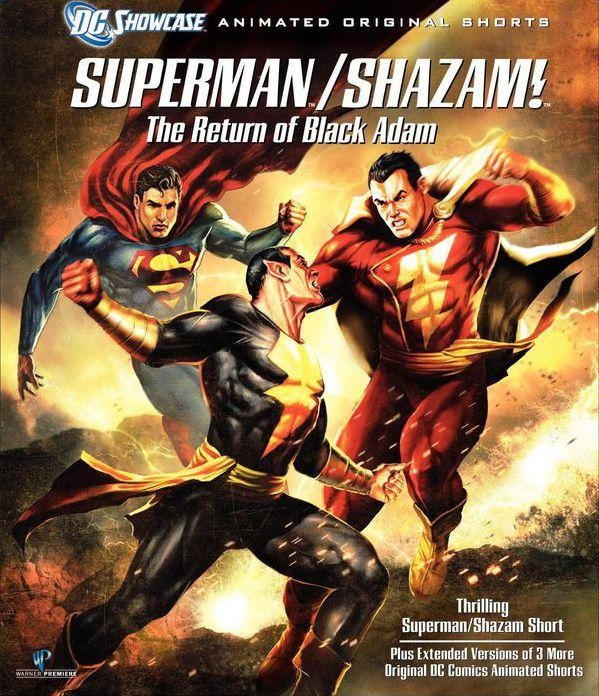 Superman e Shazam: O Retorno do Adão Negro Torrent Dublado