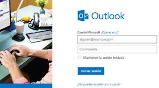 iniciar sesion en Outlook.com