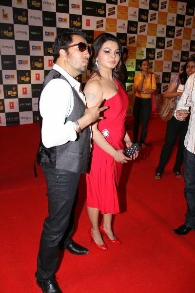 Rakhi Sawant Hot Photos with mika