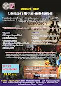 Seminario Taller: LIDERAZGO Y MOTIVACIÓN DE EQUIPOS.