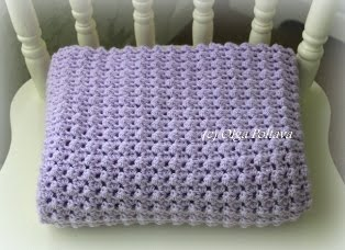 Easy Baby Blanket Crochet Pattern, $2.25