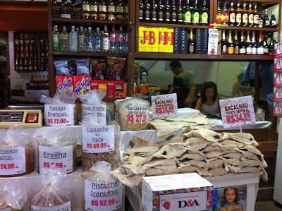 Produtos vendidos no CADEG, Rio de Janeiro