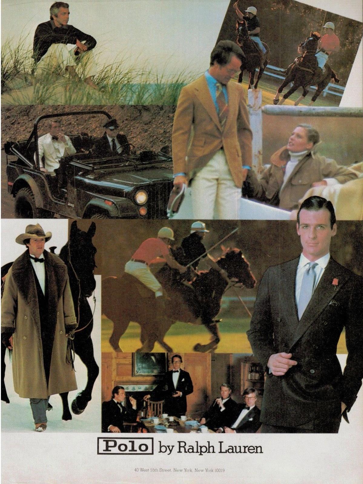 Vintage Ralph Lauren 1979