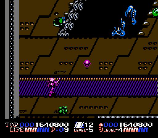 ISOLATED WARRIOR (NES)