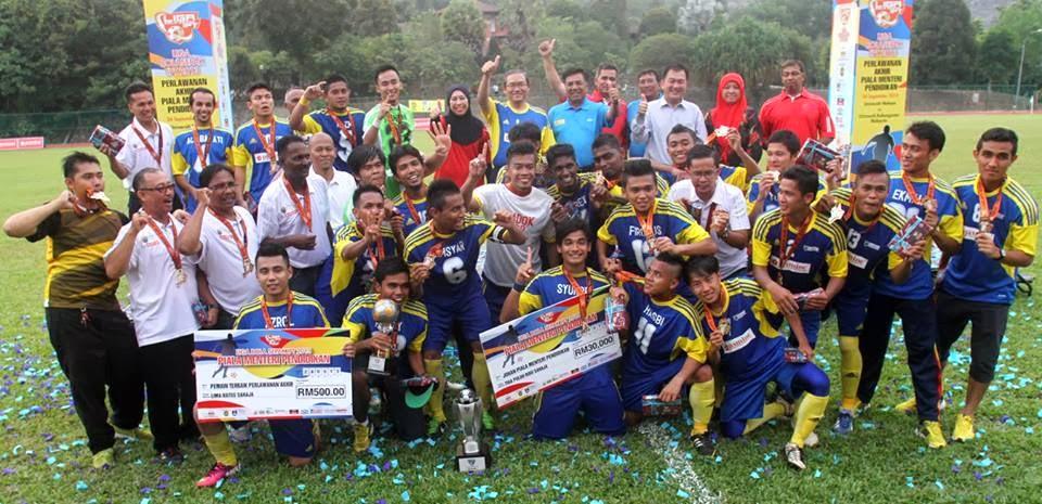 UM muncul juara Piala Menteri Pendidikan 2013 | Gambar oleh