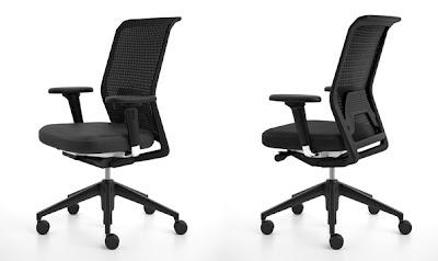 id chair concept by antonio citterio espacio de inspiracion. Black Bedroom Furniture Sets. Home Design Ideas