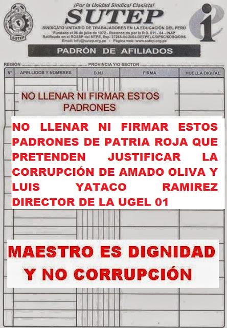 MODELO DE CARTAS DE RENUNCIA AL CEN SUTEP