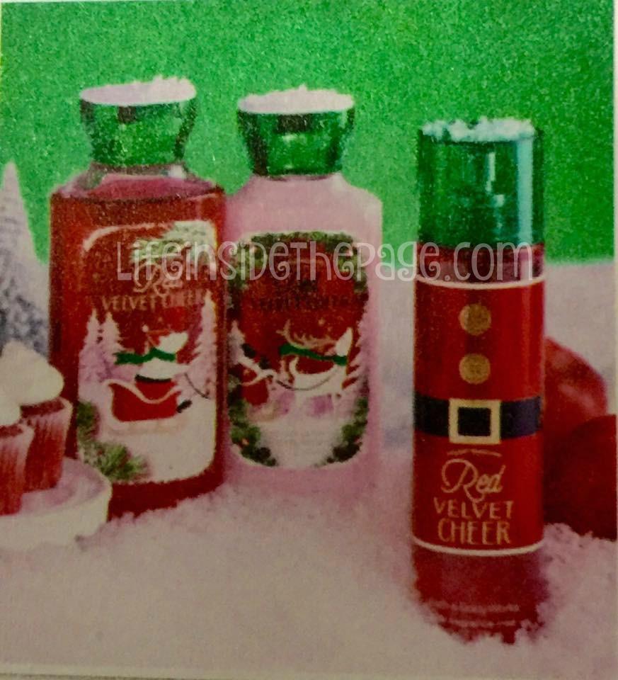 bath body works holiday 2015 scent list life writings shower gel body lotion fine fragrance mist