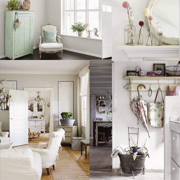 La differenza tra lo stile shabby, il country e il provenzale, la ...