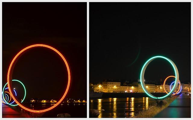 Nantes - anneaux de Buren