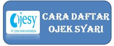 cara daftar ojek syari, ojek syar'i, ojek online surabaya