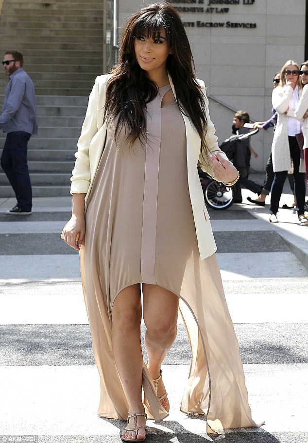Fashions fade, style is eternal ♥ : PREGNANT KIM K