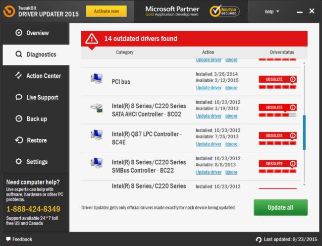 tweakbit driver updater license key list