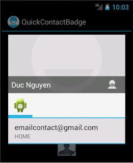 Android Custom QuickContactBadge - Figure 2