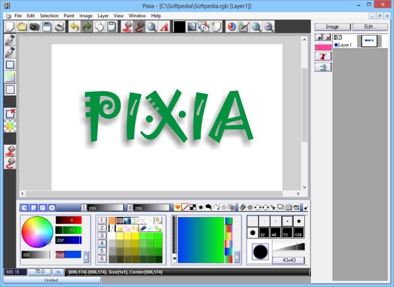 Pixia, Pengolah Gambar Gratisan Dengan Fitur Lengkap