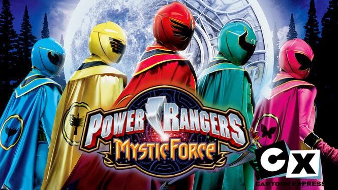 Hindi Power Rangers Mystic Force