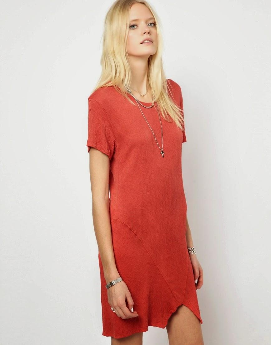 LnA red dress